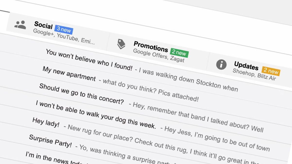 Gmail blir oppgradert