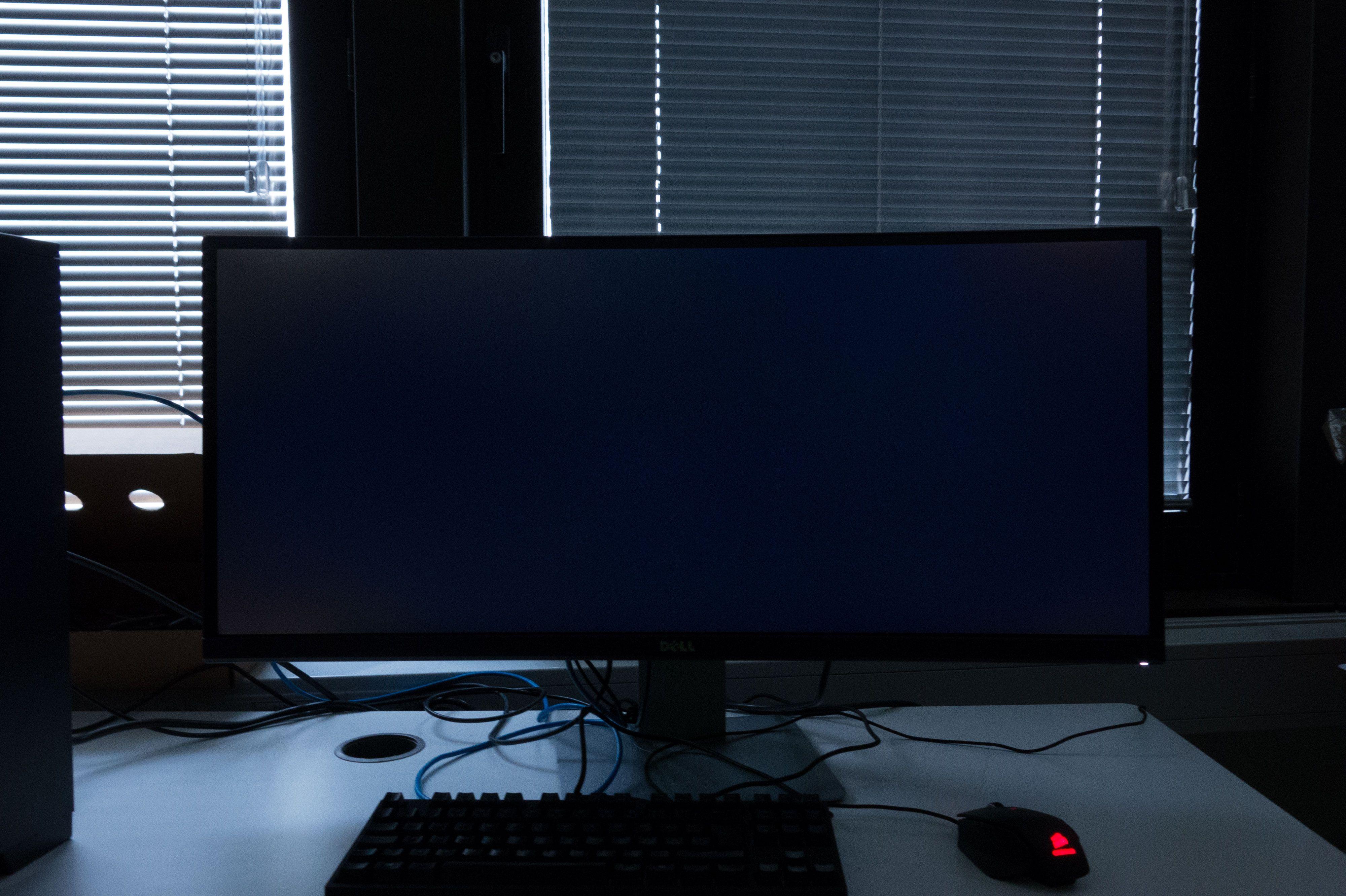 Panelet lekker en del lys, spesielt på venstre side