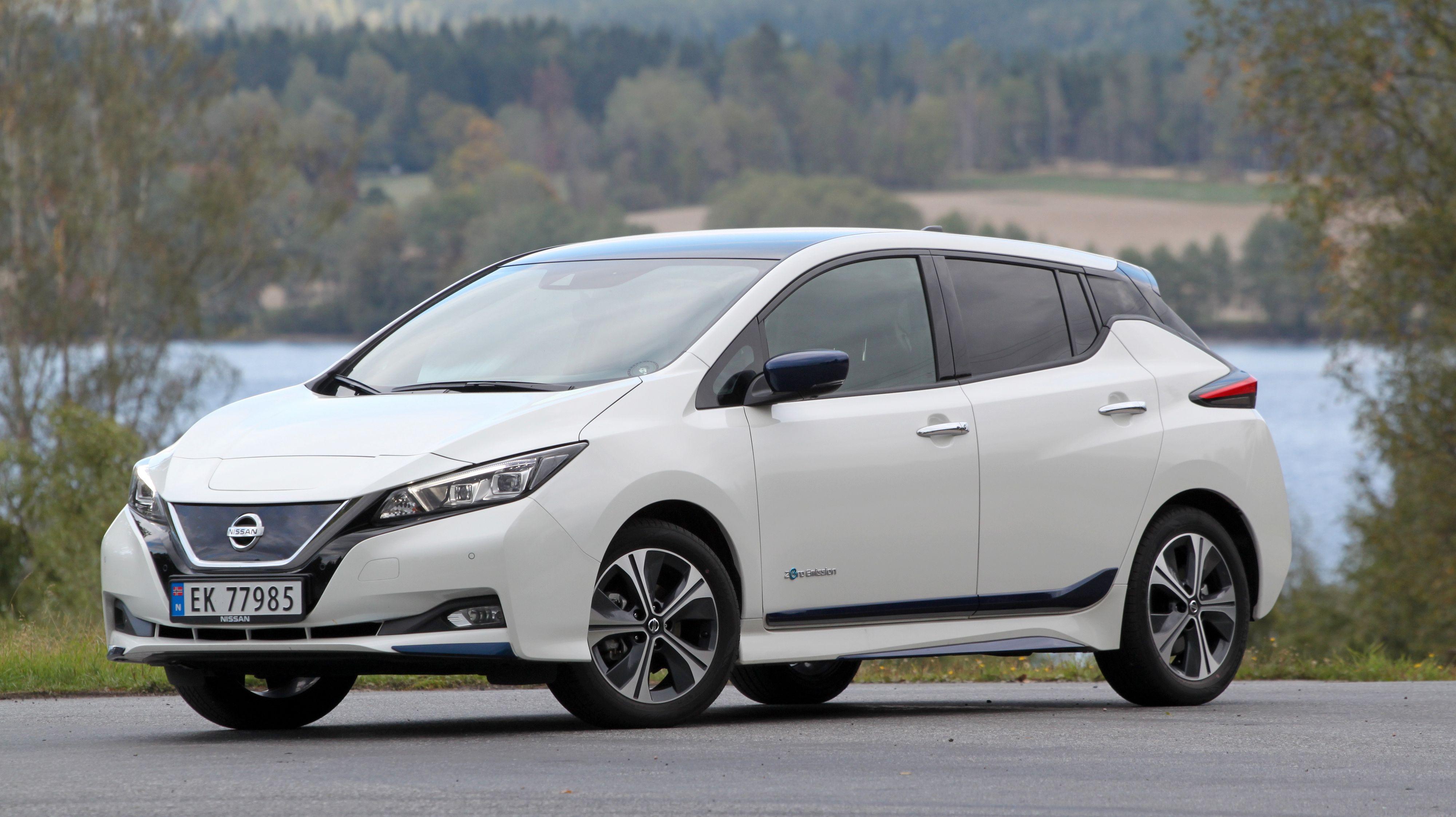 Den toppspesifiserte Nissan Leaf-utgaven kommer med ProPilot Assist.