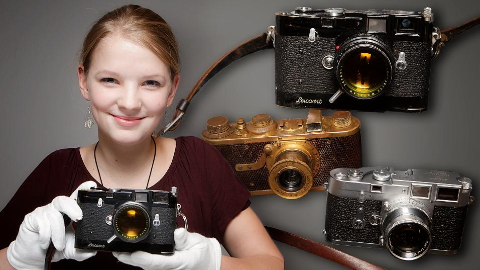 3 Leica-kamera: 26,4 millioner kroner