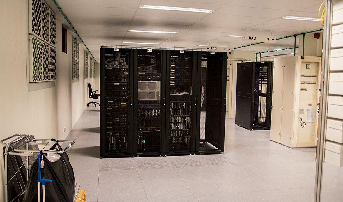 Fra ett av de to hoveddatasentrene til Altibox.Foto: Niklas Plikk, Hardware.no