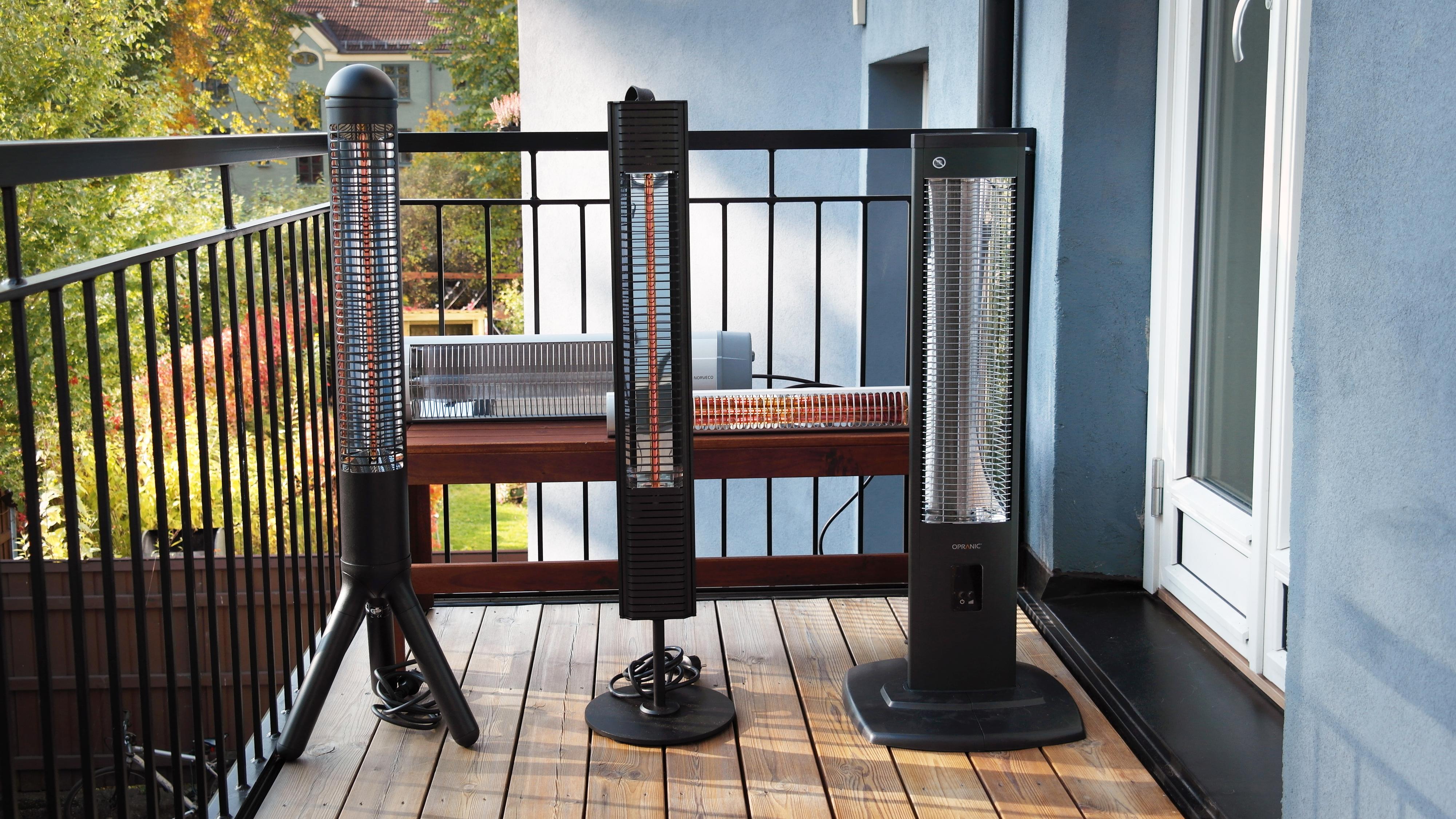 Test av terrassevarmere: Disse forlenger utesesongen i begge ender