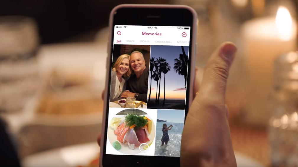Slik funker Snapchats nye «memories»-tjeneste