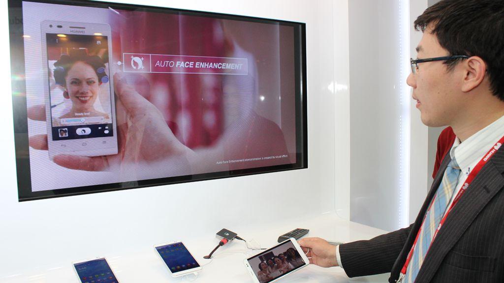 Huawei lager også løsninger for trådløs hjemmeunderholdning.