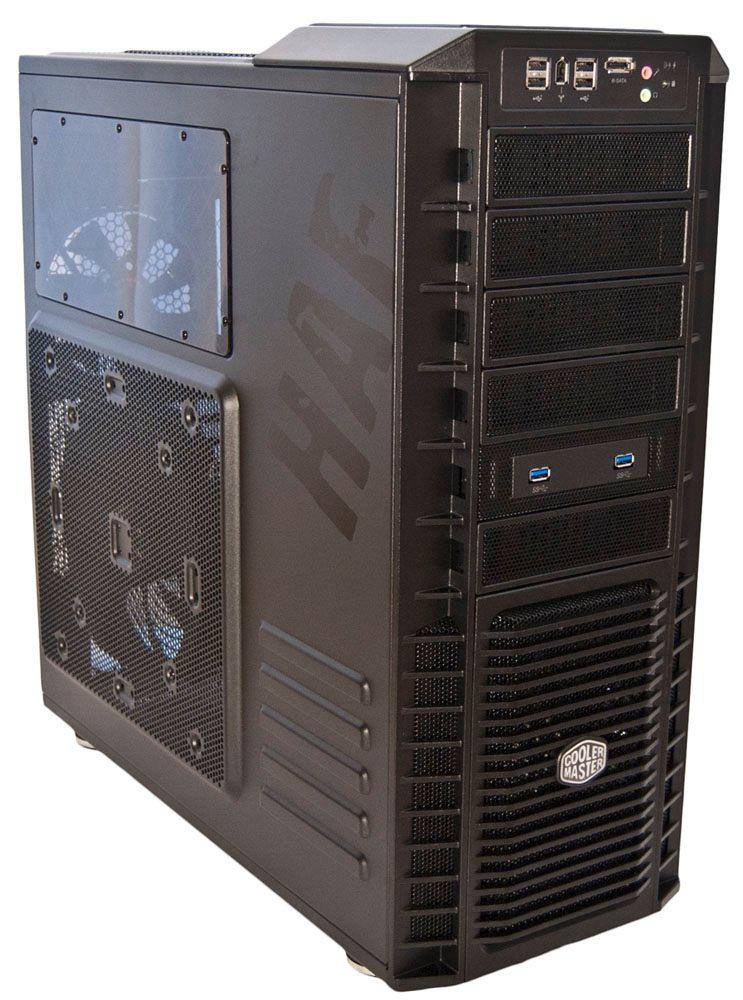 Klar for kamp. Kabinettet fra Cooler Master skal holde maskinvaren din kald i hete spillsekvenser.