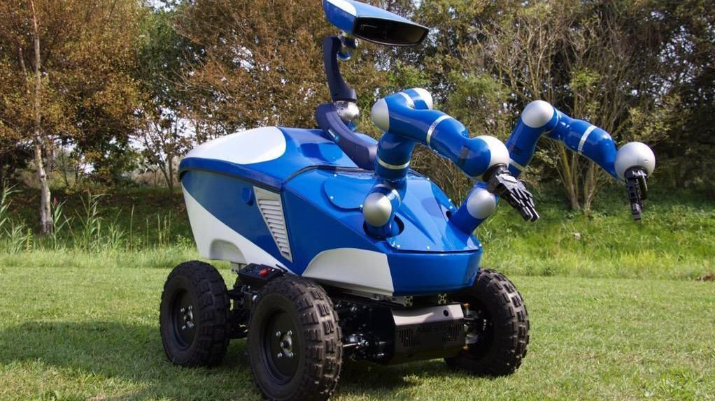 Slike roboter kan sendes til Mars i framtiden