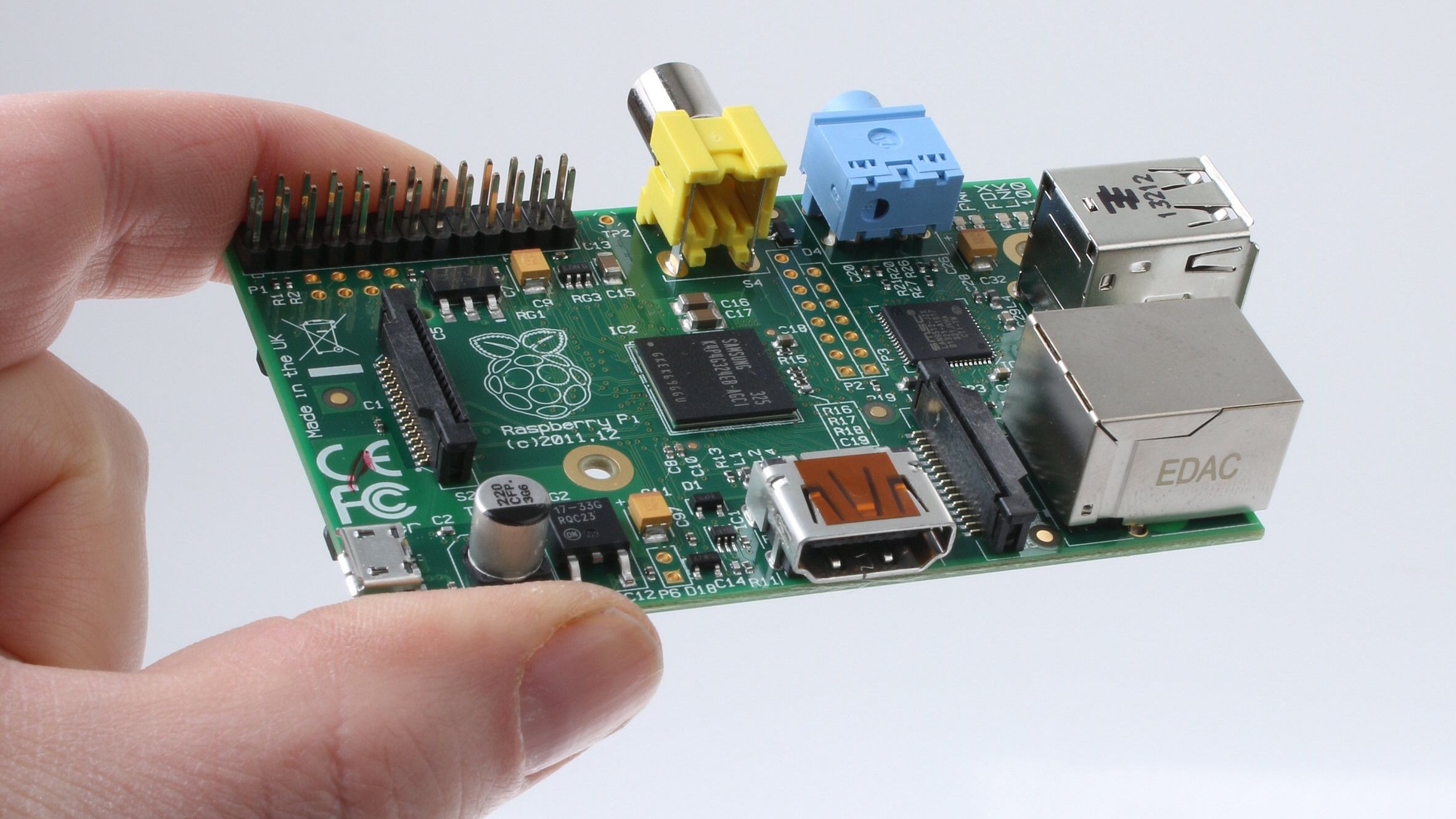 Kom i gang med knøttemaskinen Raspberry Pi