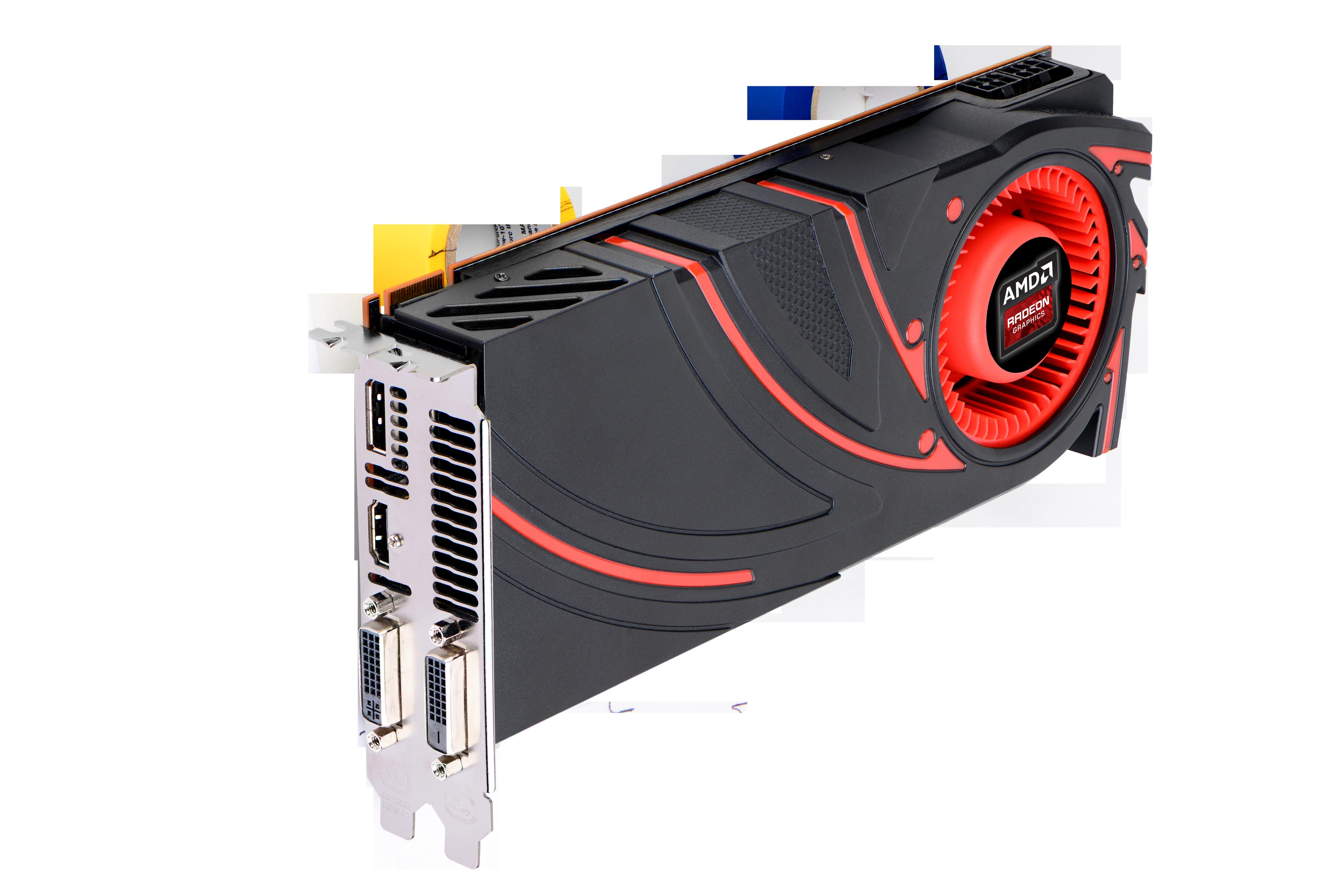 AMD Radeon R9 270X er den minste varianten av spillserien Radeon R9, som AMD introduserte i går.Foto: AMD