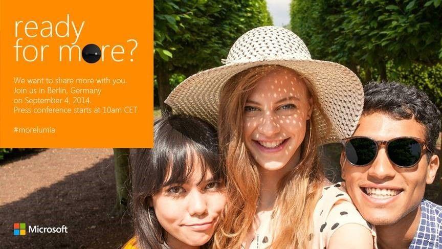 Om vi får se en ny kamerakonge eller en selfie-telefon fra Microsoft er foreløpig uklart. Slik ser den norske invitasjonen til arrangementet ut.Foto: Microsoft