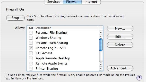 Elendig trygghet i Apple-brannmur