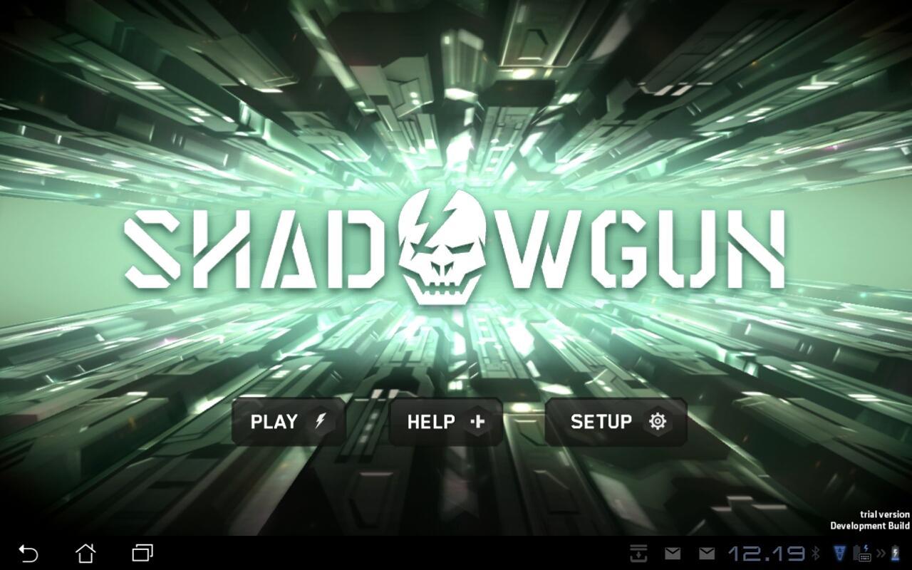 Transformer Prime er fantastisk til spill. Her er et av spillene som kommer i egen utgave for Tegra 3; Shadowgun.