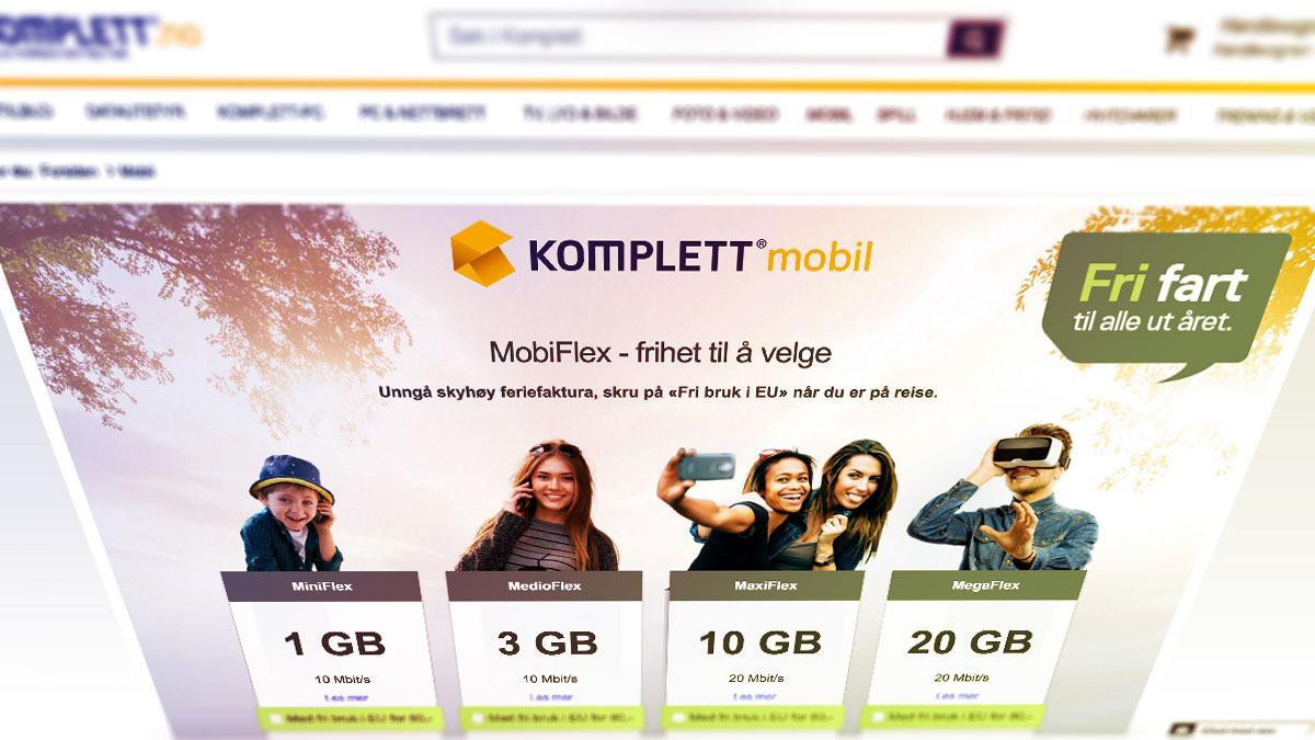 Nå er Kompletts mobilabonnement blant det billigste du får