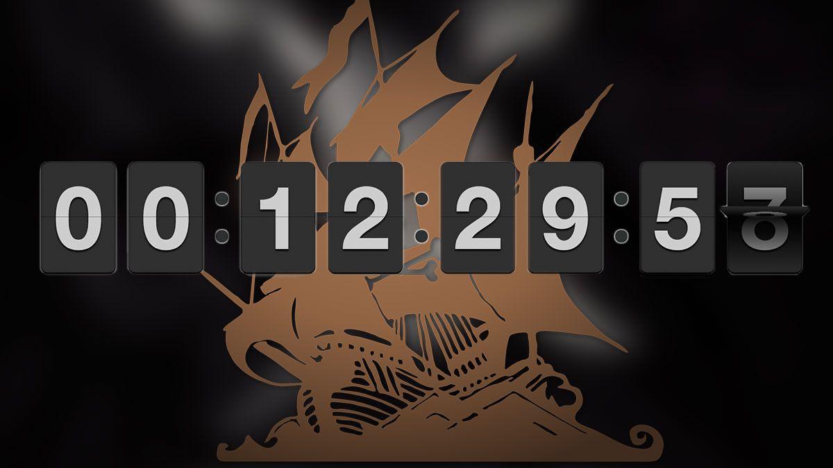 Nå har klokken nådd null - The Pirate Bay er tilbake