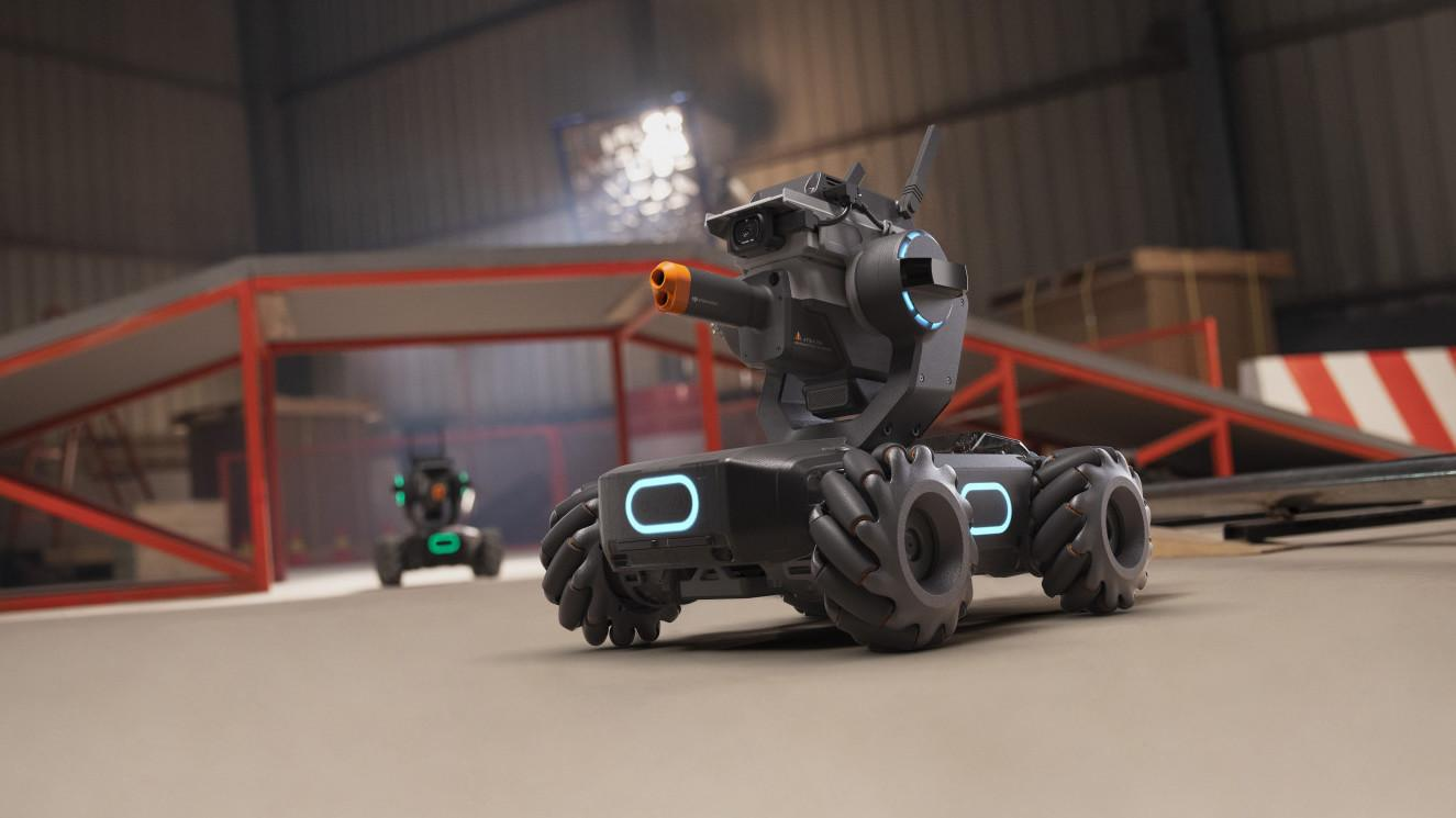 DJI lanserer stridsvogn for å inspirere til lek og programmering