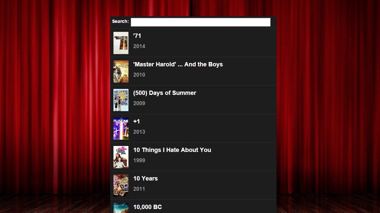 Popcorn Time kan nå også brukes direkte i nettleseren. Foto: Skjermdump/Popcorninyourbrowser.net