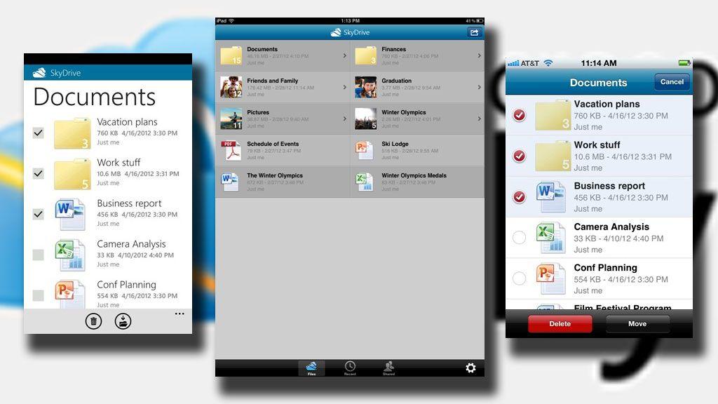 Ny og bedre SkyDrive er lansert