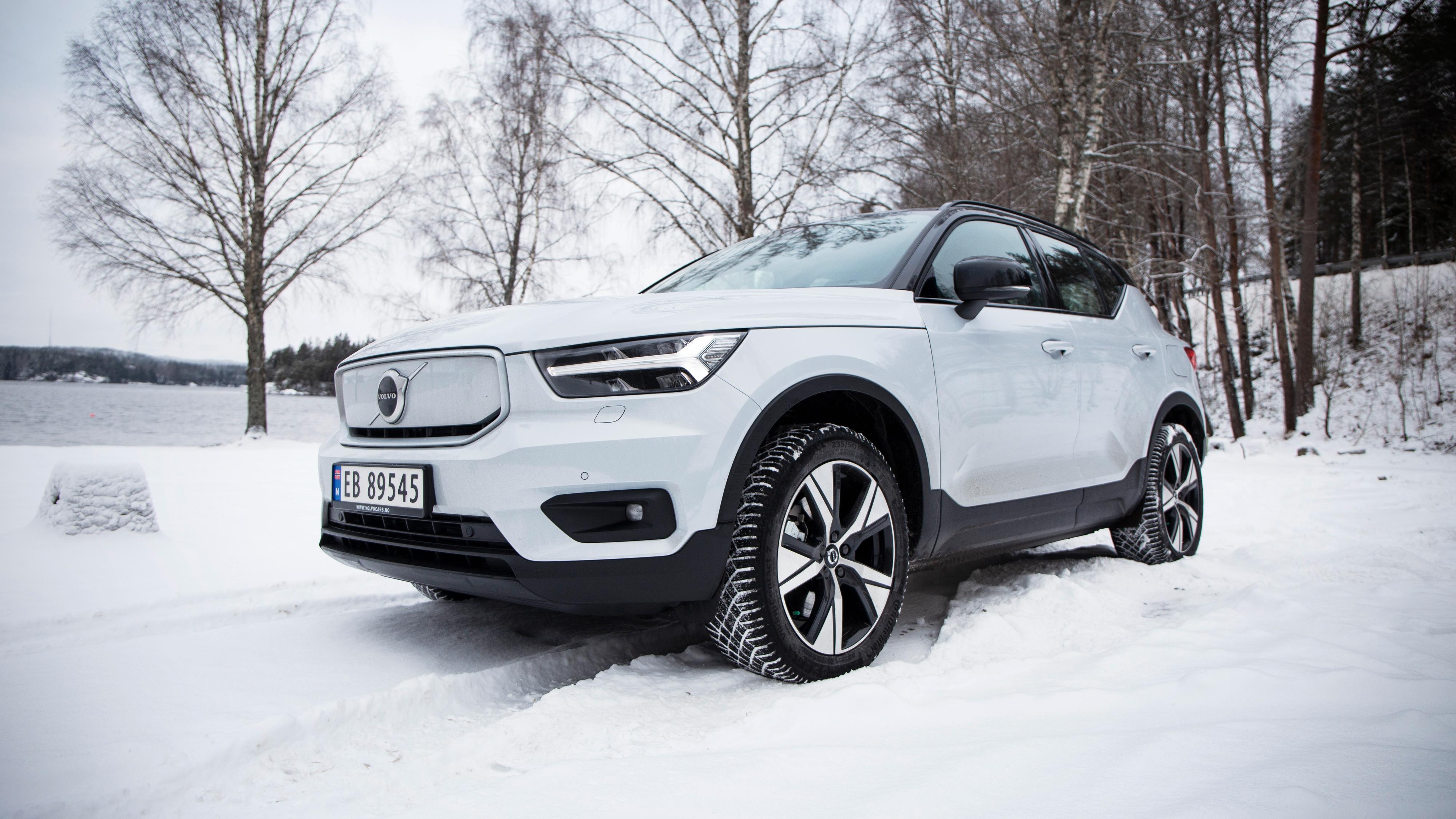 Glem rekkeviddeløftene på vinteren: Vi kjørte Volvo XC40 i kulda