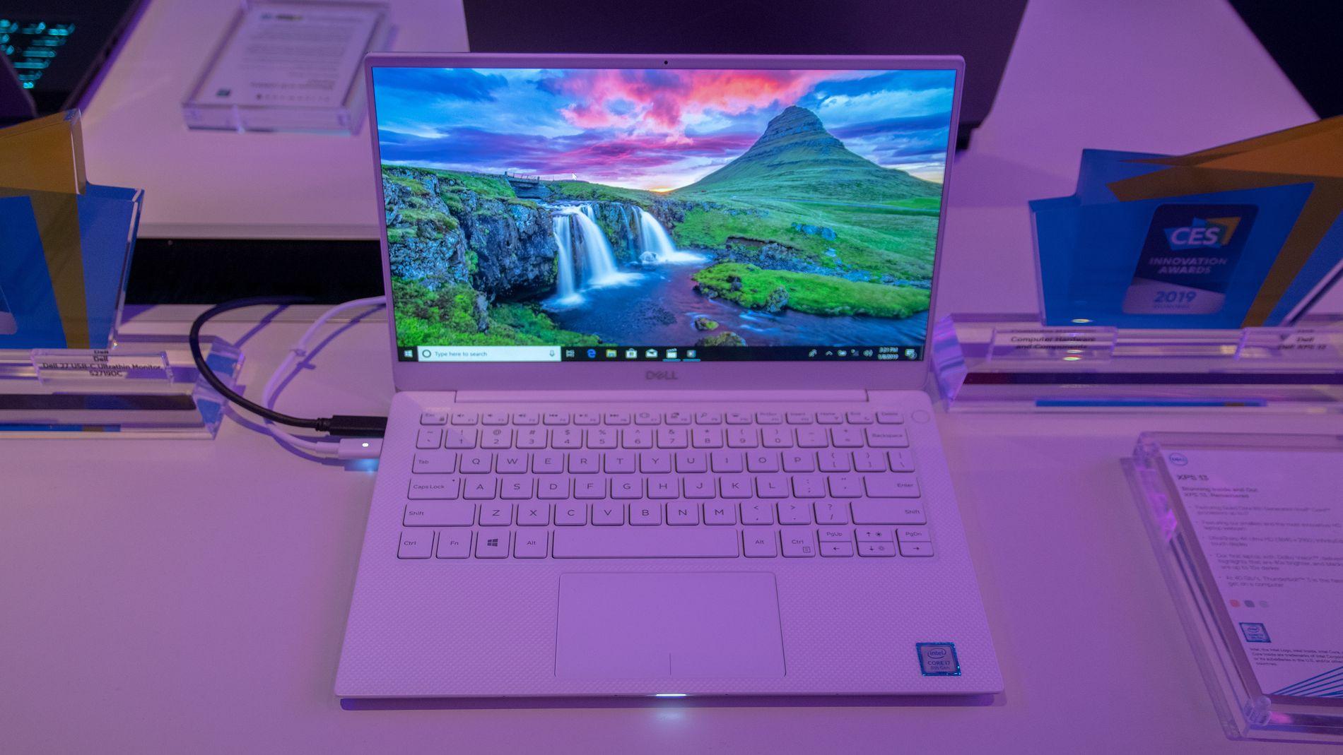 Nye XPS 13 kommer i «Frost White»-utførelse.
