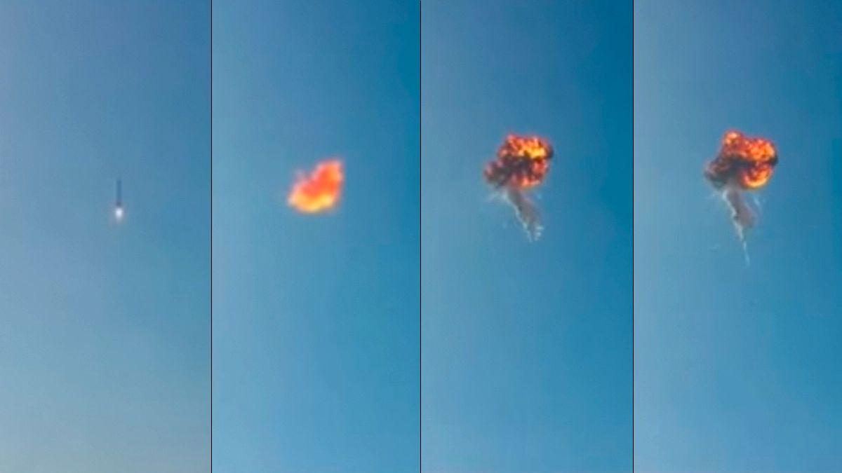 Her går det galt for SpaceX-raketten