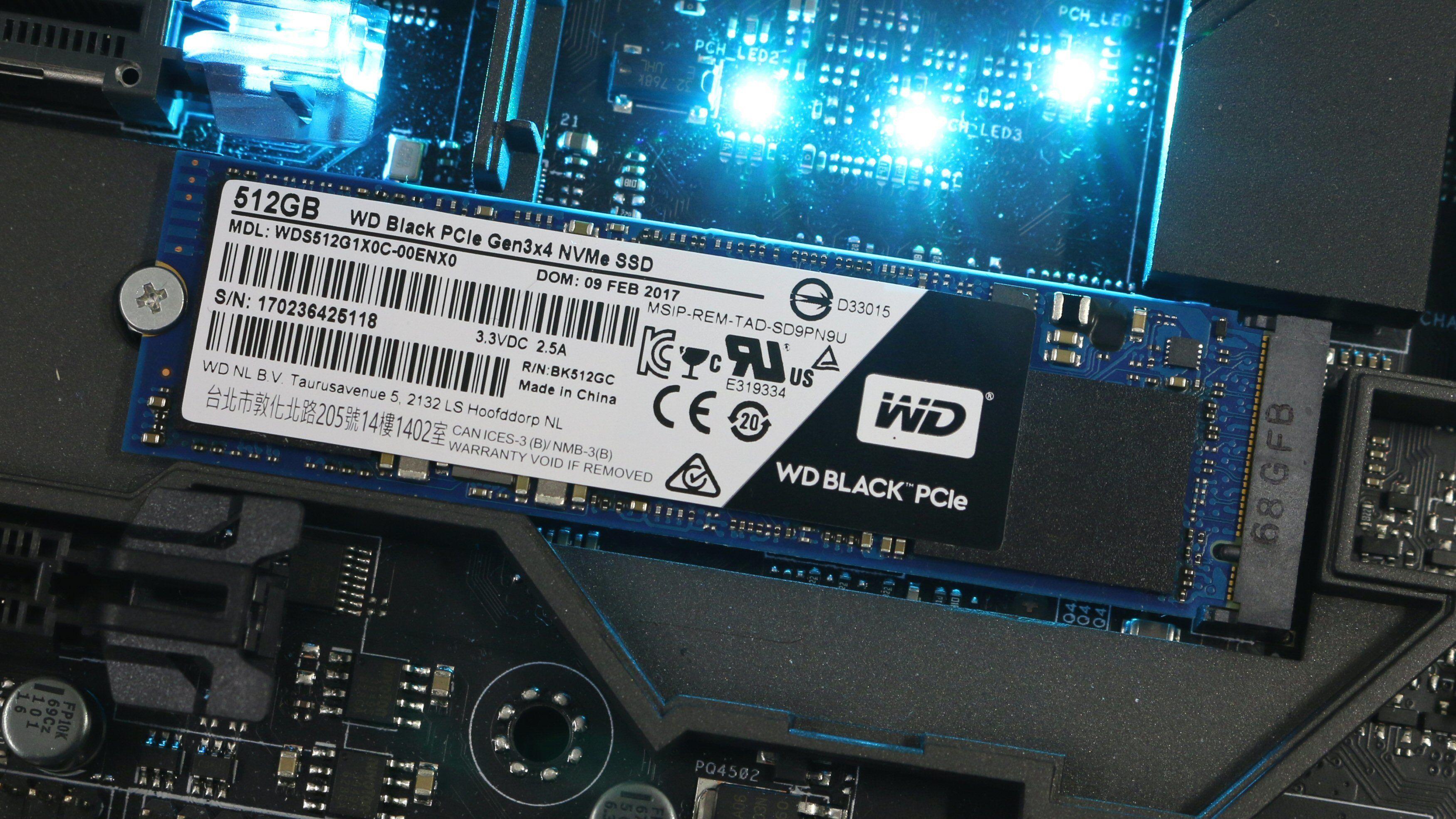 WD Black PCIe SSD
