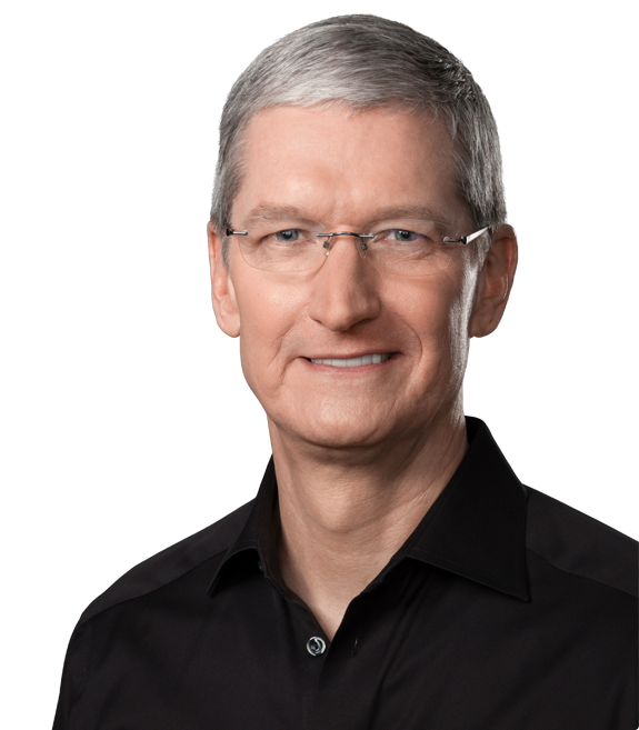 Apple-sjef Tim Cook. Foto: Apple