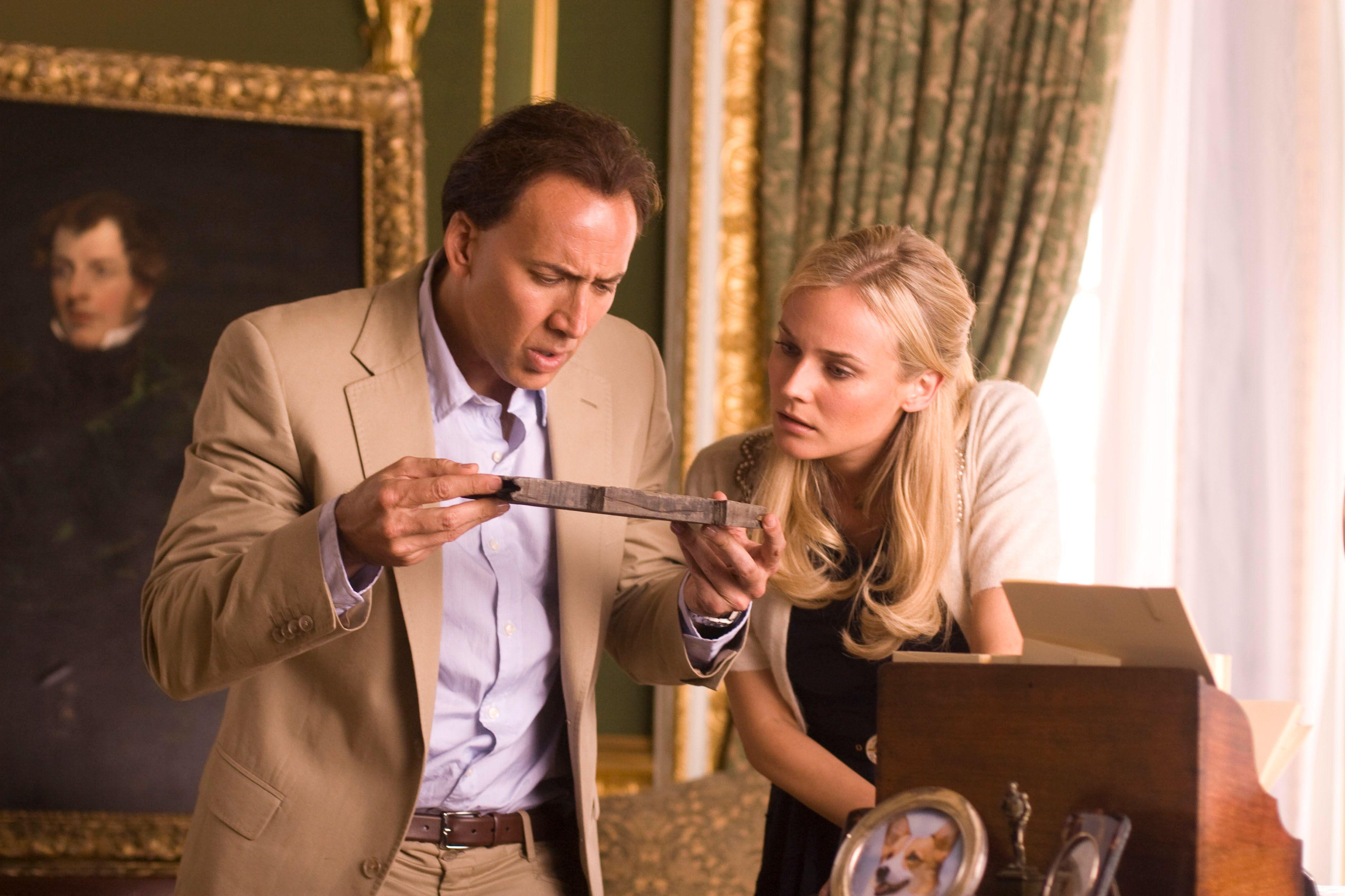 """National Treasure: Book of Secrets"" har snart premiere på norske kinoer."