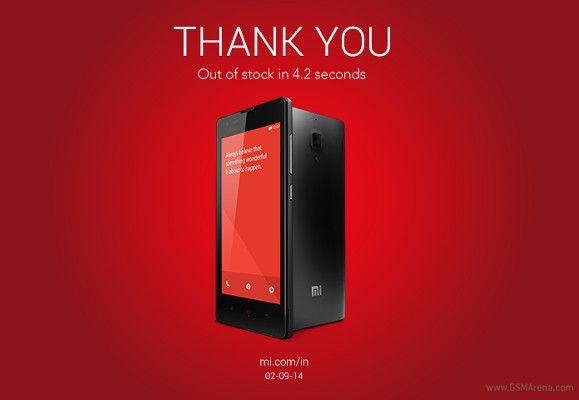 Slik takket Xiaomi for oppmerksomheten.