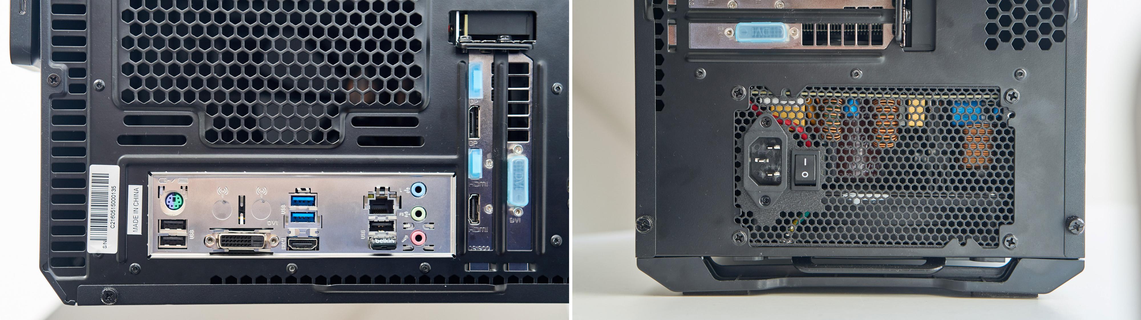 Innganger på baksiden vil variere ettersom hva du installerer...