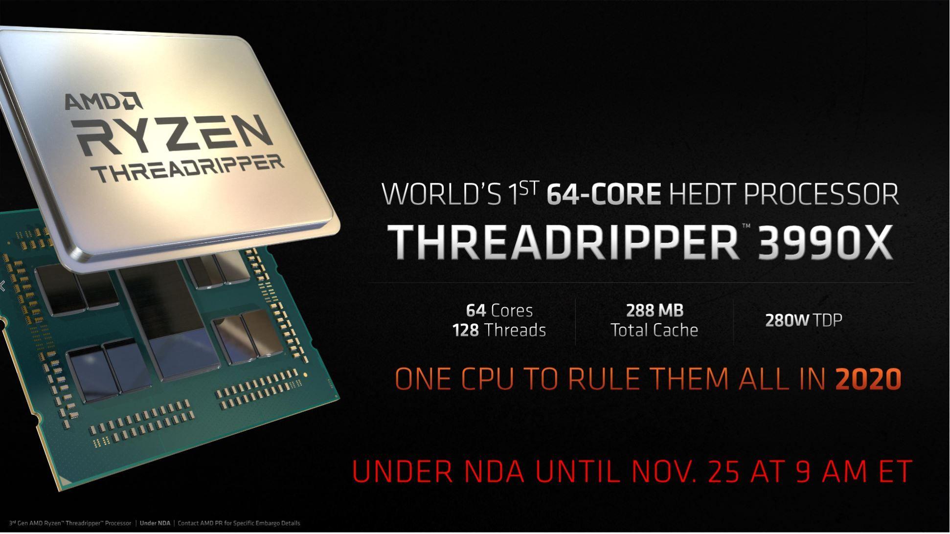 «One CPU to rule them all»... ingen nåde fra AMD.