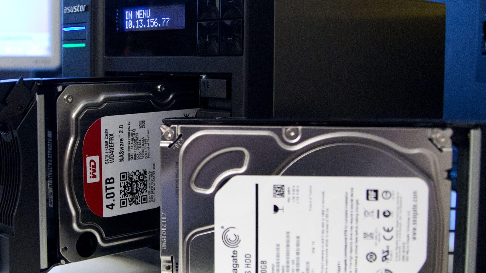NAS-harddisker