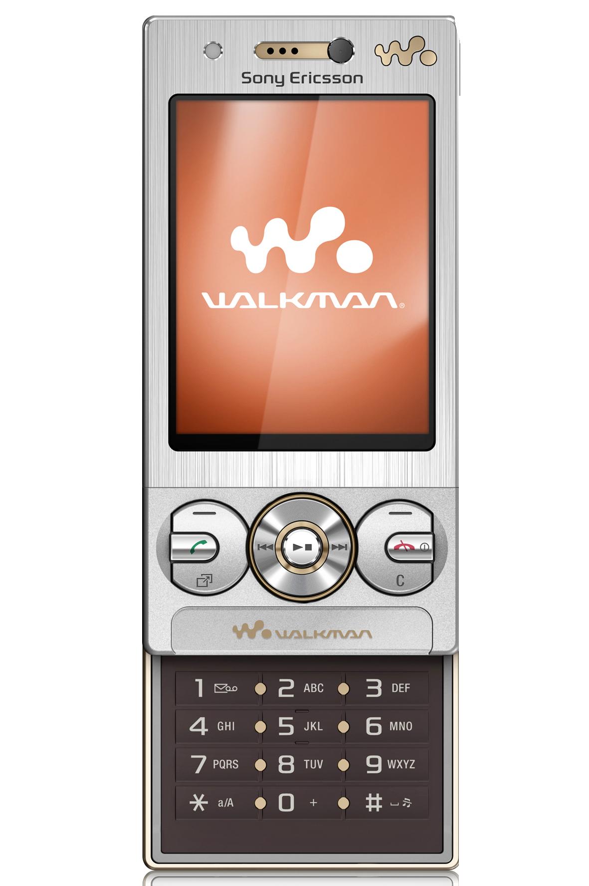 Sony Ericsson w705. En klassisk Walkman-modell.