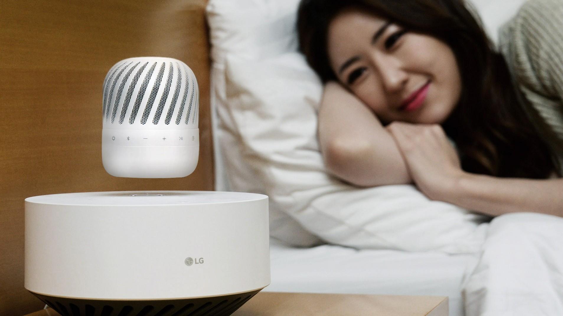 LGs nye høyttaler lander av seg selv når den trenger strøm