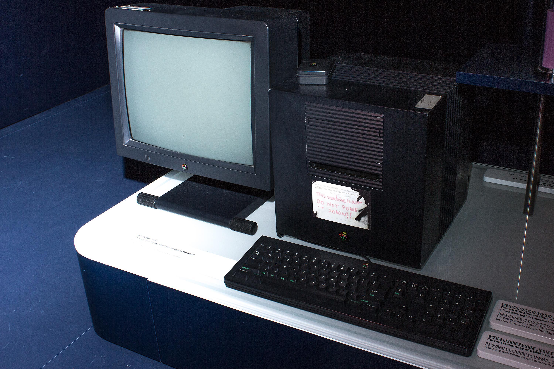 Den aller første webserveren i verden kunne by på HTML-sider gjennom HTTP-protokollen, men ikke stort annet – til å begynne med.Foto: Varg Aamo, Hardware.no