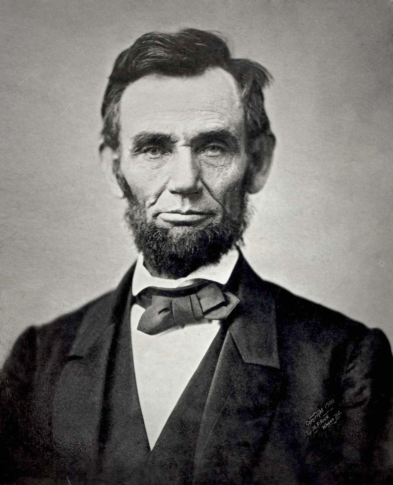 Alvorligere ansikt skal du lete lenge etter. «The Gettysburg Portrait» av Abraham Lincoln. (Foto: Alexander Gardner, daguerreotypi 1863)