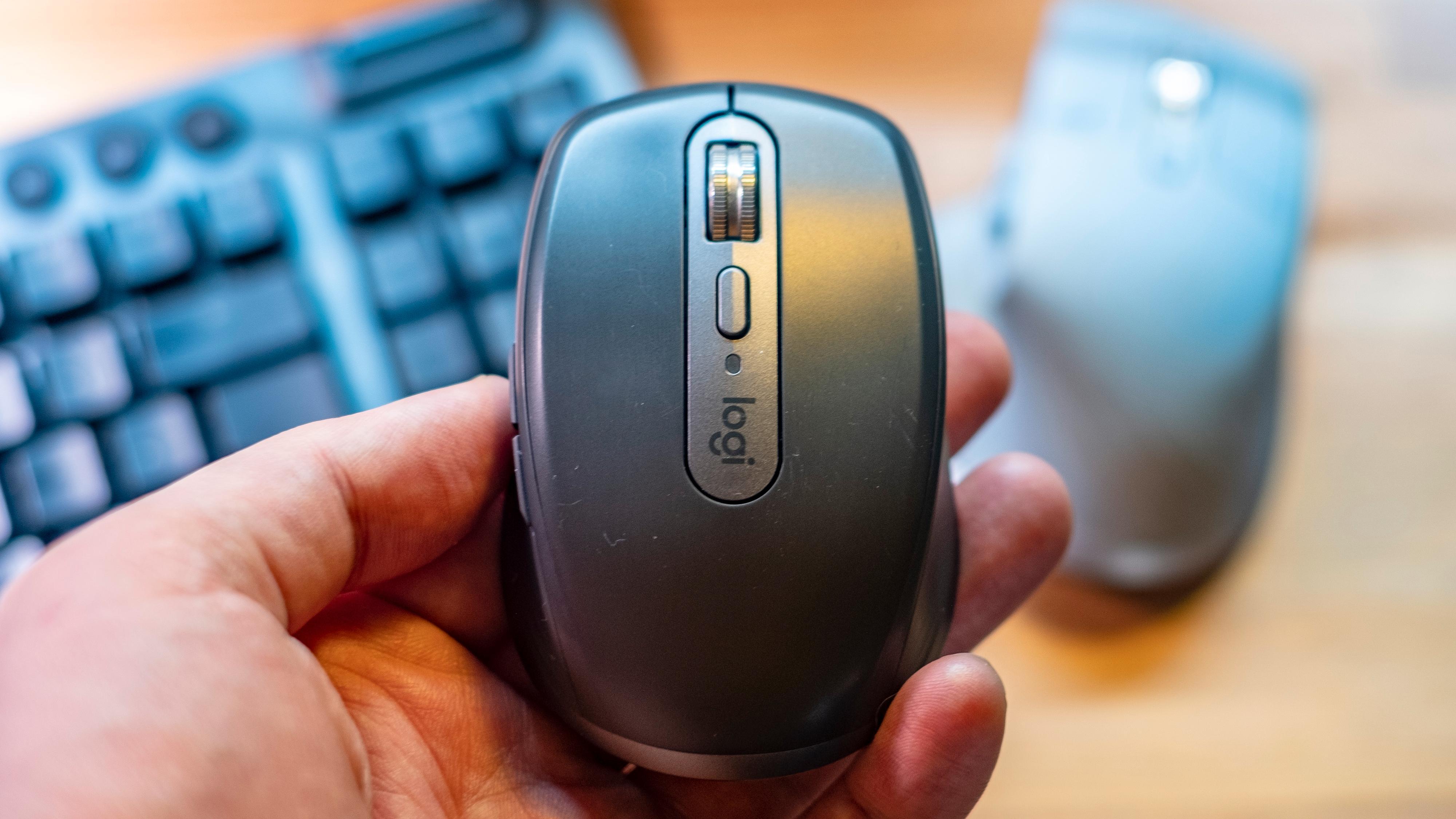 MX Anywhere 3 er prototypen på en trådløs mus