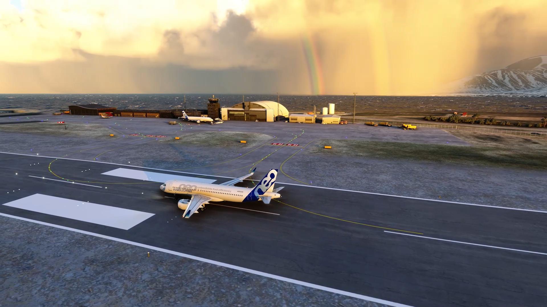 Svalbard lufthavn.