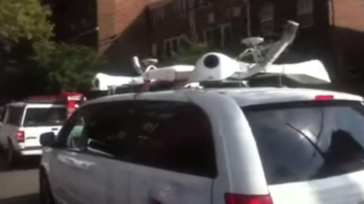 Hva er det disse mystiske Apple-bilene driver med?