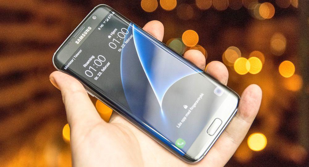 Samsung Galaxy S7 Edge kommer godt ut i testen.