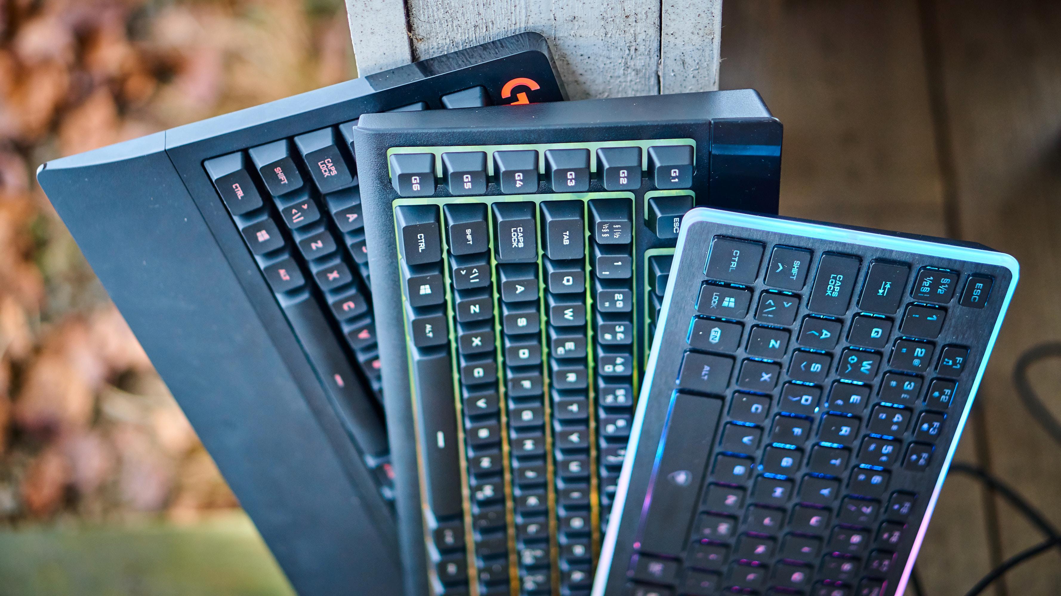 Tastaturer kommer i mange ulike utforminger.