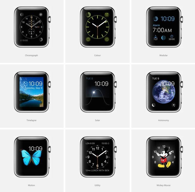 Hvor mange uttrykk kan Apple Watch-skjermen egentlig ha? Foto: Apple