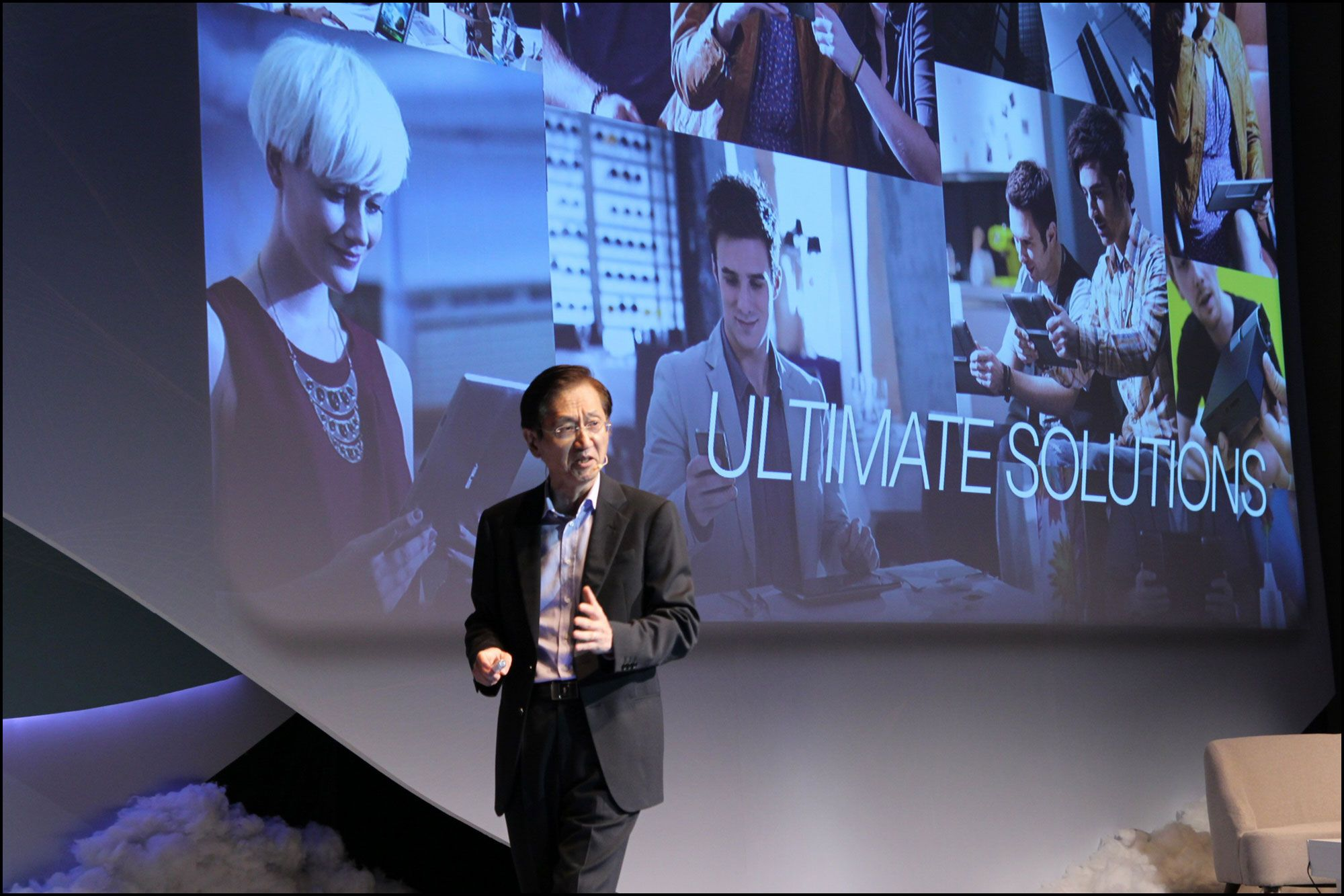 Johnny Shih, Asus toppsjef, på Computex.Foto: Vegar Jansen, Hardware.no