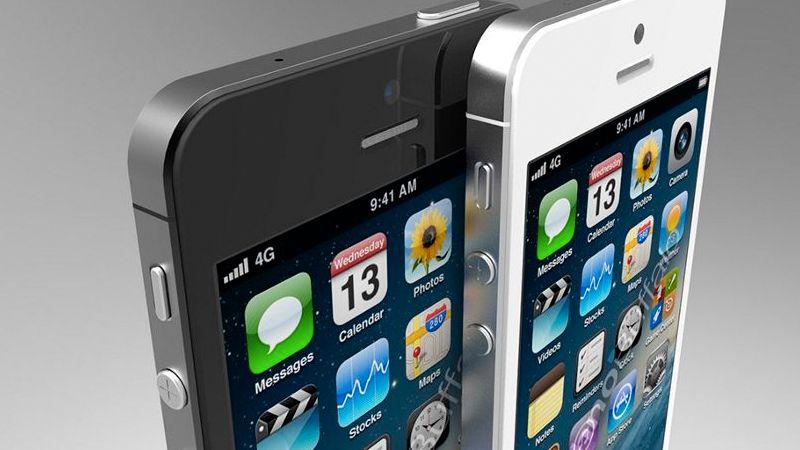 Er det slik iPhone 5 kommer til å se ut? Svaret får du klokken 19 på kvelden 12. september.Foto: Blackpool Creative