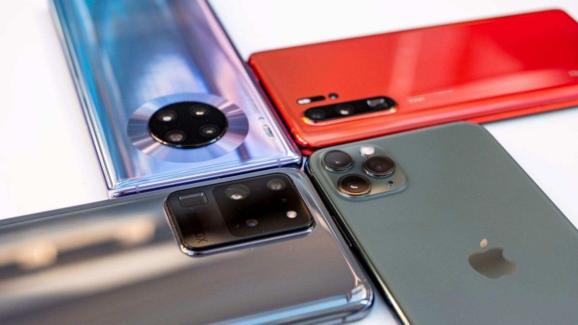 Smarttelefonsalget har stupt den siste tiden