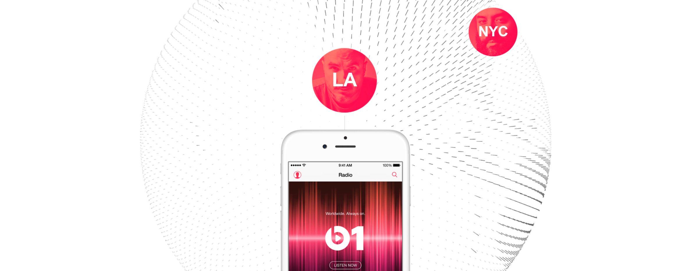 Zane Lowe fra BBC Radio 1 er blant musikkpersonlighetene som skal lede radiostasjonen Beats1. Foto: Skjermdump/Apple