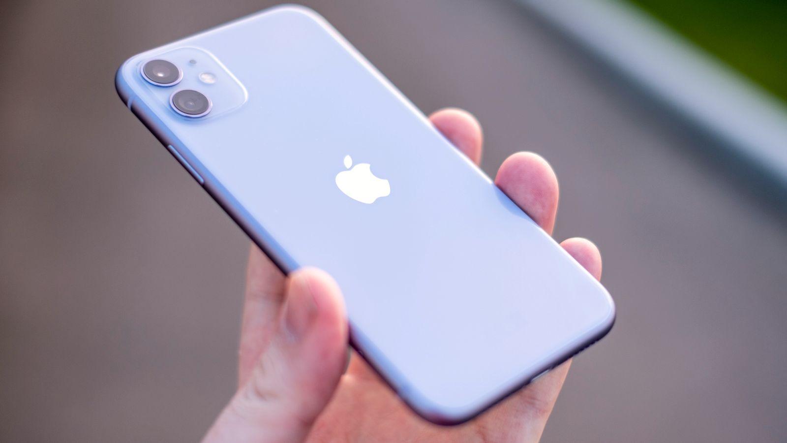 Skjermtrøbbel for iPhone 11
