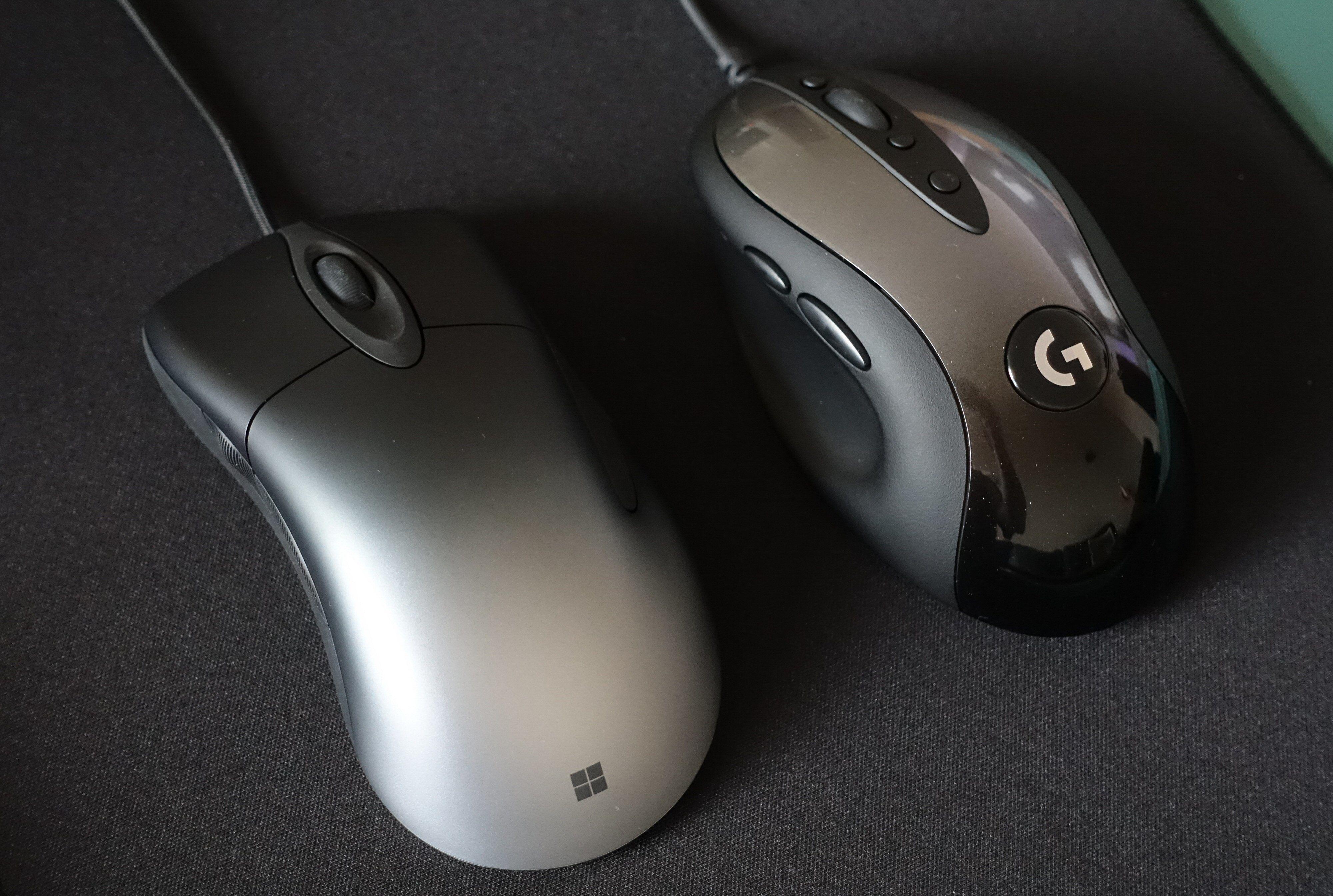 Pro IntelliMouse og G MX518 har det som skal til for å tekkes nostalgikerne blant oss – og sikkert noen til.