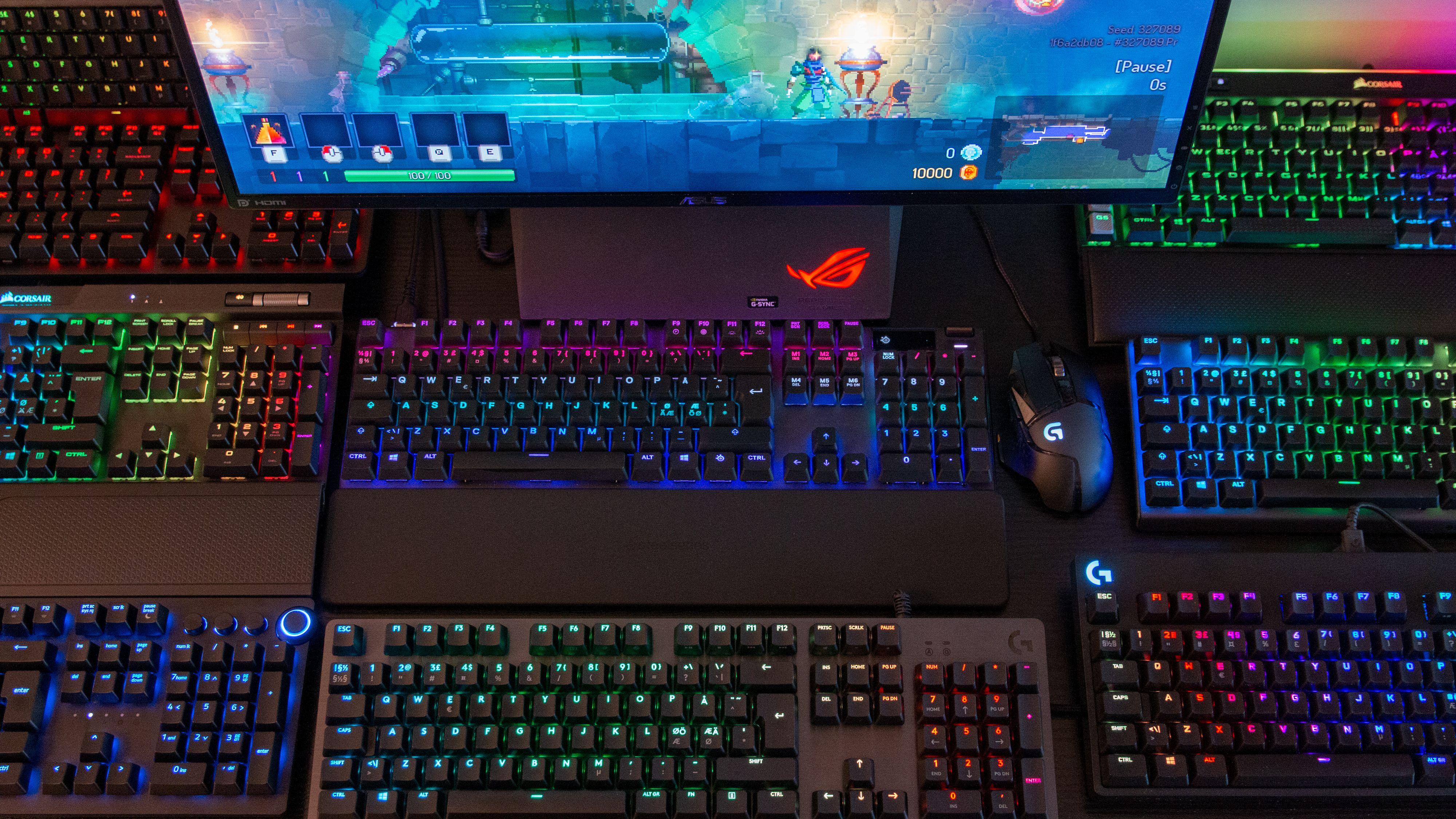 Det beste mekaniske tastaturet har justerbare brytere og OLED-skjerm