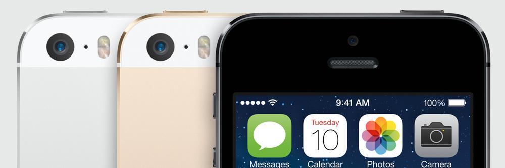 iPhone 5S topper fremdeles salgslistene hos NetCom.Foto: Apple