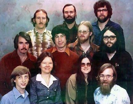 Slik så Microsoft ut i 1978, før de fikk avtalen med IBM.