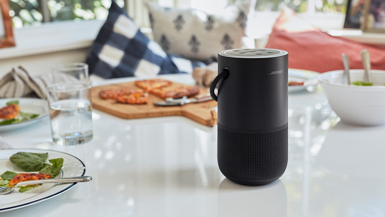 Bose slipper bærbar høyttaler med både Bluetooth og Wi-Fi